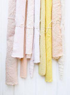 fabric dyeing DIY   designlovefest