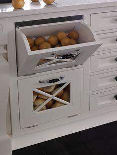 Tilt-Out Bins   Wood-Mode   Fine Custom Cabinetry