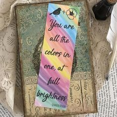 All the Bright Places Bookmark Jennifer Niven Bookmark