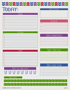 free printable daily tasks page for filofax daytimer planners to do list daily planner. Black Bedroom Furniture Sets. Home Design Ideas