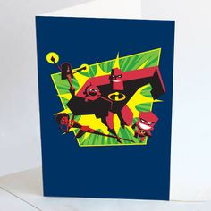 The Incredibles-vaderdagkaarten