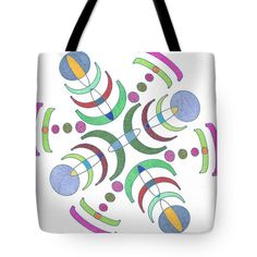 Tote Bag featuring the drawing Cosmo by Sara LaMothe