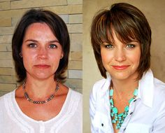 """""""I am really pleased and think it is money well spent!"""" ~ Jana  View the before and after here: http://chataromano.com/makeover/jana-33-businesswoman/  #style #beauty #makeover"""