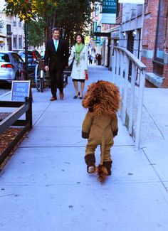 DIY Lion Costume for Kids