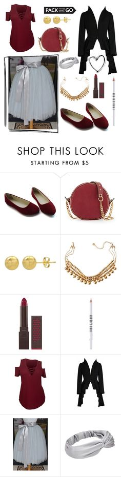 """Plus Fun"" by alyglows on Polyvore featuring Neiman Marcus, Lydell NYC, Burt's Bees and Lord & Berry"