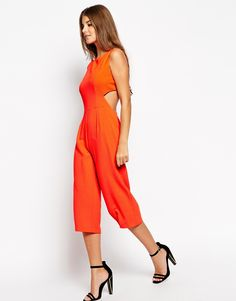 Asos Culotte with cutout back