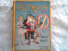 The Lost Princess of Oz by L. Frank Baum, Vintage Collectible Wizard of Oz Book. $85.00, via Etsy.