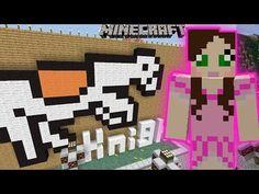 Minecraft: EPIC BURNING HORSE RACE! - PAT & JEN THEMEPARK [6] - YouTube