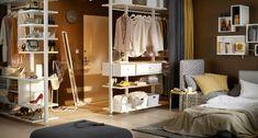 IKEA : 12 meubles et rangements malins pour les petits espaces Elvarli Ikea, Dressing Ikea, Ikea Shelves, Best Ikea, Wardrobe Rack, Entryway, Closet, Furniture, Home Decor