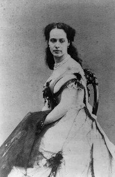 Her Serene Highness Princess Felix of Salm-Salm (1844-1912) nee Miss Agnes Leclerc Joy