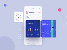 Financing App Volume 5 | Daily UI by Bakhtiyar 😱 Sattarov | Dribbble