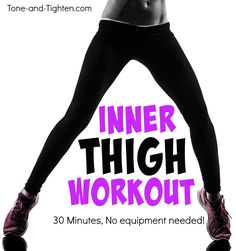 30-minute inner-thigh burner for strength and definition