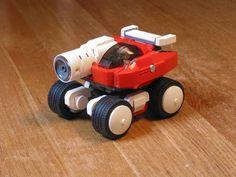 Blaster Master car done in LEGO