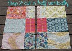 Quilt Story: Disappearing 9 patch tutorial...