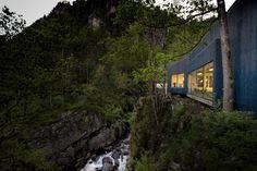 Kvåsfossen / Rever & Drage Architects