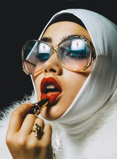 "meiselsassistant: "" vlada-sasha-natasha: "" joshwilkz: "" Promotional Imagery for YSL Beauty "" Amazing! "" Is that a hijabi model? Beauty Dish, Ysl Beauty, Beauty Shoot, Foto Glamour, Portrait Photography, Fashion Photography, Photo Reference, Woman Face, Editorial Fashion"