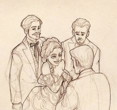 Lucy Westenra and her Suitors | Eirini Skoura
