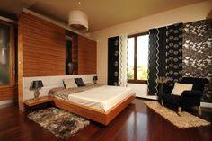 Панельные шторы в спальню - красиво и удобно!