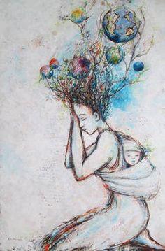 Prière d'une Ondine Ondine, Oil On Canvas, Saatchi Art, Original Paintings, Artist, Artists