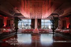Ballroom wedding reception. Made it look so rich. (Hutton Hotel Nashville)