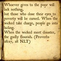 Bible Verse: Proverbs 28:17-18