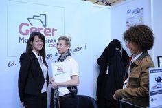 Stand GererMesAffaires.com au Forum de la Mixité 2013.