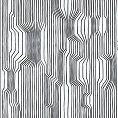 Frekvenssi 396x27.6 White by Marimekko by NewWall