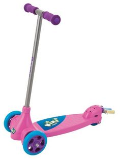 """Extra-wide 3-wheel design for greater stability Kixi boosts youngsters balance, coordination and fun Patented """"tilt to turn"""" feature helps tots learn to steer.   toys4mykids.com"""