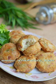 Diah Didi's Kitchen: Perkedel Daging Asap Praktis