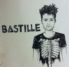 My old Bastille inspired drawing. Made the day after a concert, enjoy my frens :*