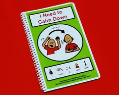 I Need to Calm Down - PECS Autism Social Skills Story - NEW!!!