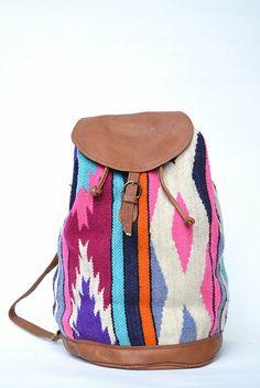 Vintage Southwestern Backpack -