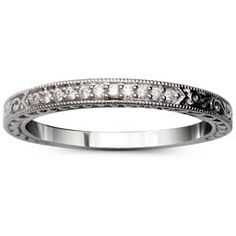 Virginia Diamond Wedding Band.  Like this one alot...matches the other one.