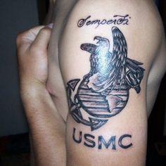 Ideas Dogs Tattoo Marine Corps For 2019 Sweet Tattoos, Dog Tattoos, Girl Tattoos, Usmc Tattoos, Tatoos, Marine Corps Tattoos, Marine Tattoo, Tattoo Font Styles, Tattoo Fonts