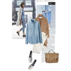 A fashion look from January 2016 featuring Uniqlo tops, Harris Wharf London coats and American Eagle Outfitters jeans. Browse and shop related looks.