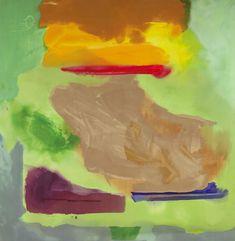 Habitually Chic®: In Memoriam: Helen Frankenthaler Helen Frankenthaler, Contemporary Museum, Contemporary Art Daily, Modern Art, Pollock Paintings, Oil Paintings, Post Painterly Abstraction, Abstract Painters, Abstract Art