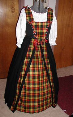 Celtic Clothing For Women | Celtic Costume made by Kathy Castrovinci