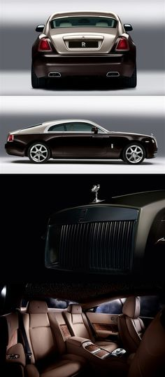 The Rolls-Royce Wraith is what dreams are made of