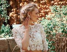 Sunday Bridal Inspo Our Lene top on the most beautiful beaded french lace! Wedding Beauty, Wedding Bride, French Lace, Beaded Lace, Bridal Accessories, Most Beautiful, White Dress, Wedding Dresses, Spring