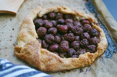 """""""Old Fashioned"""" Cherry Galette 