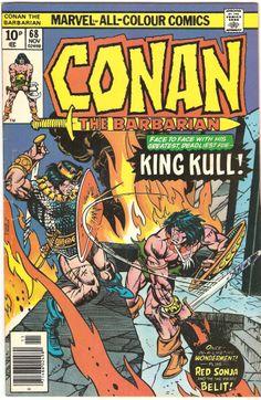 Conan The Barbarian. Vol. 1, No. 68. U.S. Marvel Comic. Nov. 1976
