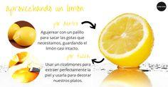Consejo de cocina: ¿cómo podemos aprovechar el limón al máximo para nuestras recetas? #receta #cocina #limon