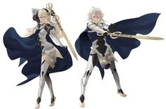 Avatars of Fire Emblem If // Still Can't get out of my mind that the female has two left feet.
