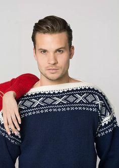 Marius 2 Herregenser Norwegian Style, Jumper, Men Sweater, Pullover, Baby Knitting Patterns, Norway, Winter Fashion, Mens Fashion, Guys