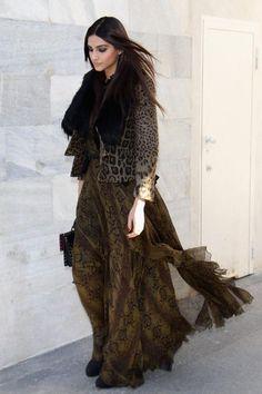 Sonam Kapoor at Roberto Cavalli Autumn/Winter 2012 — The Purple Window