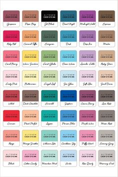martha stewart craft paint color chart samples on benjamin moore color chart visualizer id=30724