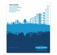 Think London Tourism Campaign designed by Johnson Banks