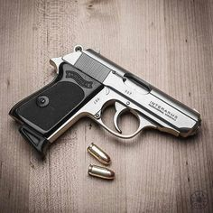 Walther PPK. Note the serial number!