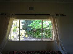 Picture of a customer's window that they wanted to install a Plisse Retractable Screen on but needed our help for how and where to measure and install the screen.