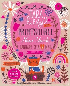 print & pattern: PRINTSOURCE - lilla rogers studio